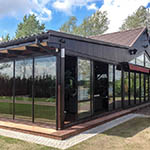 frame terrace enclosure